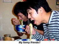 My funny friends!!